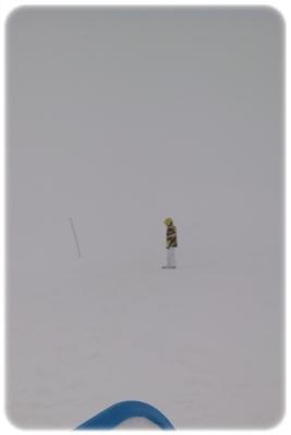ミニスキー モエレ沼公園 山頂.JPG